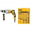 DEWALT DWd520 + DW5207 7-Piece Premium Drill Bit Set