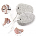PHOGARY Natural Pumice Stone for Feet 2 PCS