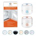 HOMETINKER Porcelain Toilet, Tile and Shower Repair Kit