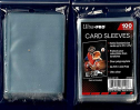 Ultra Pro 5 Pack Lot of 100 Soft Card Sleeves